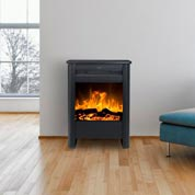 black freestanding electric stove