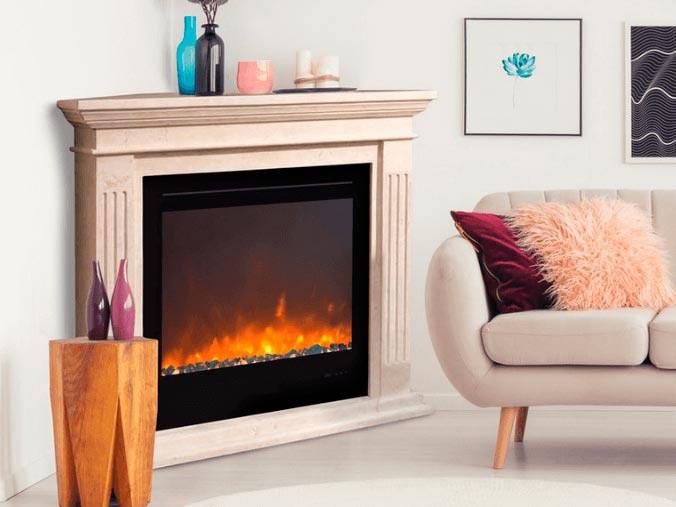 Corner Fireplaces Electric Fireplace, Electric Corner Fireplace Uk