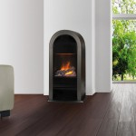 Romero opti-myst fireplace - Black