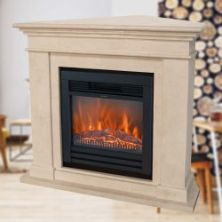Kos Corner electric fireplace